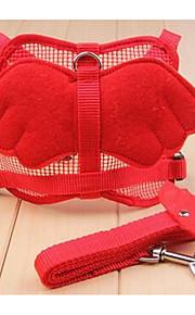 ハーネス 安全用具 しつけ用品 フラワー クロス レッド ブルー
