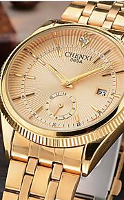 CHENXI® Masculino Relógio Elegante Relógio de Moda Relógio de Pulso Simulado Diamante Relógio Japanês QuartzoCalendário imitação de