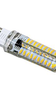 5W G9 G4 GY6.35 G8 E11 LED-lamper med G-sokkel T 80 SMD 4014 400-500 lm Varm hvit Kjølig hvit Dimbar AC110 AC220 V 1 stk.