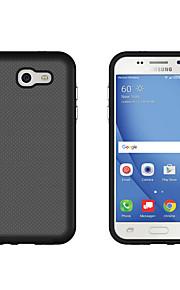 Для Samsung Galaxy i7 (2017) j3 (2017) крышка корпуса ударопрочный задняя крышка solid color hard pc j7 prime j5 prime j3 prime j7 (2016)