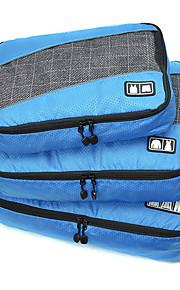Sac de Voyage Pliable Portable Durable Grande Capacité pour Rangement de Voyage Accessoire de Bagage Tissu Tissu en tulle Polyester-Noir