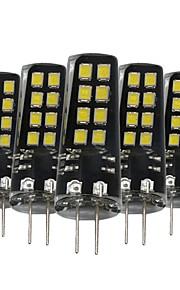 3W G4 LED-lamper med G-sokkel 16 SMD 2835 200-300 lm Varm hvit Naturlig hvit Hvit Dekorativ V 5 stk.
