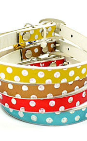 Moda kreatywnych pu małych kotów psów kołnierzyk akcesoria dla psów christmas decoration zawierają małe dzbany dostawki dla zwierząt