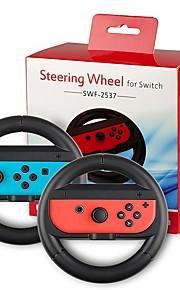 Joy-Con Steering Wheel for Nintendo Switch Controller  Nintendo Switch Joncon Steering Wheel (Set of 2) Black