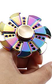 Fidget spinners Hilandero de mano Juguetes Spinner de anillo Metal EDCAlivio del estrés y la ansiedad Juguetes de oficina Alivia ADD,