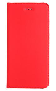 Per la copertura di caso della galassia a3 a5 (2017) del samsung caso solido sottile del cuoio del cuoio del panno materiale solido del