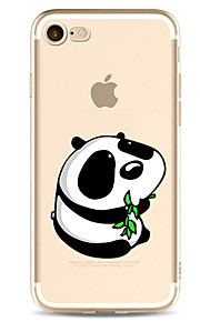 For Apple iPhone 7 7 Plus 6S 6 Plus Case Cover Panda Pattern Painted High Penetration TPU Material Soft Case Phone Case