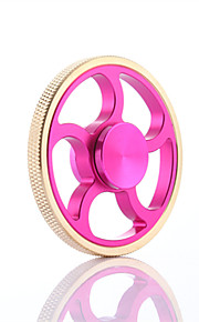 Fidget spinners Hilandero de mano Juguetes Spinner de anillo Metal EDCJuguete del foco Alivio del estrés y la ansiedad Juguetes de