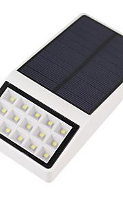 1 stuks buitenshuis zonne-energie 15 led beveiliging wandmontage tuinverlichting weglicht lamp