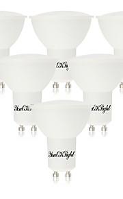 5W GU10 LED-spotpærer 10 SMD 5730 400 lm Varm hvit Kjølig hvit AC 85-265 V 6 stk.