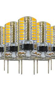 3W G8 LED-lamper med G-sokkel T 64 SMD 3014 200-300 lm Varm hvit Dimbar Dekorativ V 5 stk.