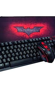 2.4ghz teclado inalámbrico y ratón combinado con el mousepad para PC portátil de escritorio