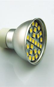 3W GU10 LED-spotpærer 29 SMD 5050 350 lm Varm hvit Kjølig hvit Dekorativ AC220 V 1 stk.