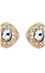 Stangøreringe Smykker Personaliseret Euro-Amerikansk Mode Ædelsten Legering Smykker Smykker For Bryllup Speciel Lejlighed 1 Par