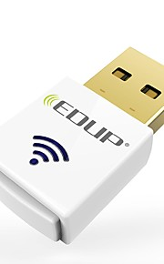 Edup ep-ac1619 double bande 2.4g / 5.8ghz ac600mbps mini sans fil usb wi-fi dongle 600mbps usb wifi adaptateur