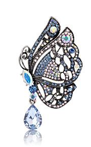 Dame Piger´ Brocher Dyredesign Mode Personaliseret Euro-Amerikansk Perle Rhinsten Legering Dyreformet Smykker ForBryllup Fest Speciel