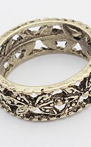 Euramerican Vintage Copper Bowknot Fine Ring Luxury Jewelry