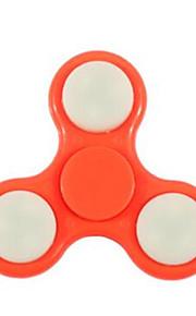 Fidget spinners Hilandero de mano Juguetes Tri-Spinner Plástico EDCJuguete del foco Alivio del estrés y la ansiedad Juguetes de oficina