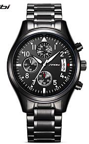 SINOBI Masculino Relógio Esportivo Relógio Militar Relógio Elegante Relógio de Moda Relógio de Pulso Simulado Diamante Relógio Japanês