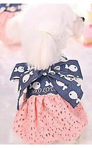 犬用品 ドレス 犬用ウェア 夏 春/秋 プリンセス ファッション カジュアル/普段着