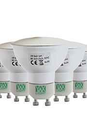 5W GU10 GU5.3(MR16) LED-spotpærer MR11 128 SMD 3014 400-500 lm Varm hvit Kjølig hvit Naturlig hvit Dimbar Dekorativ AC 110-130 V 5 stk.