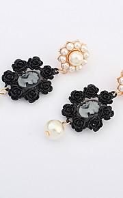 Ørering Smykker Personaliseret Euro-Amerikansk Mode Perle Ædelsten Legering Smykker Smykker For Bryllup Speciel Lejlighed 1 Par