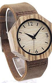 Masculino Relógio de Moda Relógio Madeira Relógio de Pulso Único Criativo relógio Relógio Casual Japanês Quartzo Quartzo Japonêsde