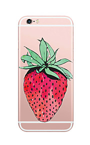 For Case Cover Ultra Thin Pattern Back Cover Case Fruit Soft TPU for iPhone 7 Plus  7  6s Plus  6 Plus 6s SE 5S 5