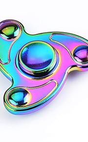 Fidget spinners Hilandero de mano Juguetes Tri-Spinner Metal EDCAlivia ADD, ADHD, Ansiedad, Autismo Por matar el tiempo Juguete del foco