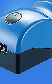 수족관 에어 펌프 무소음 무독성&무미 살균장치 모형 스위치 포함 메뉴얼 온도 조절 조절 가능 플라스틱 (110)V