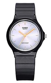 Casio Casal Unissex Relógio Esportivo Relógio de Moda Japanês Quartzo Impermeável Borracha Banda Legal Casual Preta