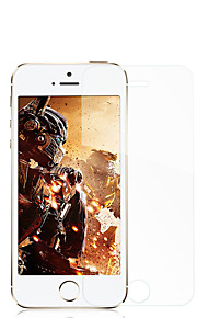 Rock for Apple Iphonese / 5s skjermbeskytter herdet glass 2.5 anti high definition (hd) eksplosjonsbeskyttet frontskjermbeskytter 1pcs