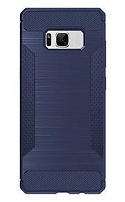 עבור Samsung galaxy s8 פלוס s8 מקרה כיסוי shockproof לכסות בחזרה במקרה שורות גלים רך tpu s7 קצה