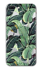 아이폰 7 플러스 7 케이스 커버 투명 패턴 뒷면 커버 케이스 트리 패턴 소프트 tpu 아이폰 6s 플러스 6s 6 플러스 6 5s 5 se