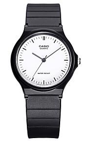 Casio Casal Unissex Relógio Esportivo Relógio de Moda Relógio de Pulso Japanês Quartzo Impermeável Borracha Banda Legal Casual Preta