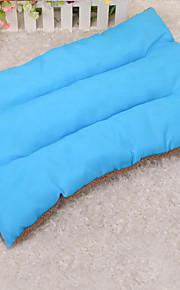 Dog Bed Pet Mats & Pads Solid Keep Warm Soft Elastic Blue Green Rose Orange
