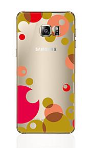 Para samsung galaxia s8 s8 más caso del teléfono patrón transparente patrón geométrico suave tpu para Samsung galaxia s7 borde s6 más s6