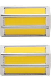 7W LED-spotpærer Tube 3 COB 660 lm Varm hvit Kjølig hvit V