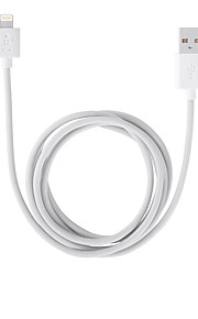 Lightning Platt Kabel Till iPhone iPad