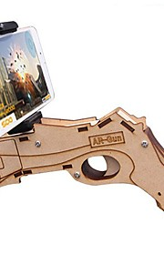 Handheld Multi-function Wooden Game Controller Built-in Bluetooth System for IOS / Android