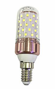 9W Żarówki LED kukurydza T 60 SMD 2835 600-680 lm Ciepła biel Biały V 1