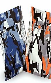 Perro Pantalones Ropa para Perro Casual/Diario Geométrico Naranja Azul