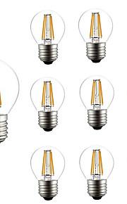 4W LED-glødepærer G45 4 COB 300 lm Varm hvit Kjølig hvit AC 220-240 V 10 stk.