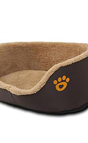 Hond bedden Huisdieren Matten & Pads Footprint / Paw Warm Ademend Comfortabel Dik Duurzaam