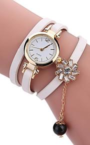 בגדי ריקוד נשים לנשים שעוני אופנה שעון יד שעון צמיד ייחודי Creative צפה שעונים יום יומיים קווארץ PU להקהמזל מגניב יום יומי יצירתי יוקרתי