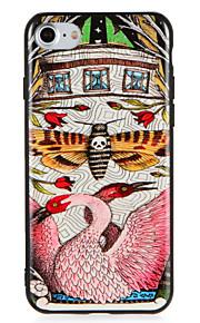 Caso para maçã iphone7 7 mais flor borboleta padrão animal padrão pc para iphone 6s mais 6 mais 6s 6