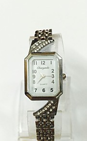 Mulheres Relógio de Moda Bracele Relógio Quartzo Lega Banda Vintage Casual Prata