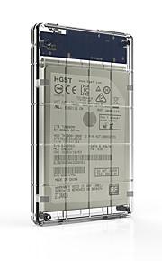 Seatay hds2160-c 2,5 polegadas transparente usb3.0 caixa de disco rígido móvel para ssd e disco rígido
