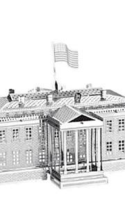 Puzzle Kit fai-da-te Puzzle 3D Modellini di metallo Costruzioni Giocattoli fai da te Architettura