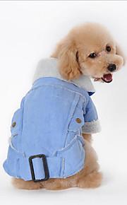 Hund Mäntel Hundekleidung Lässig/Alltäglich Amerikaner / USA Kaffee Braun Grün Blau